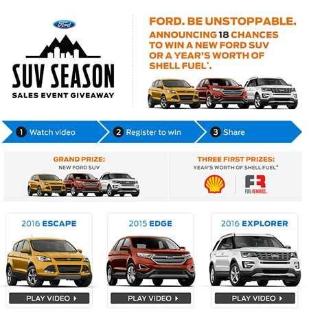 Ford Event Giveaway - www fordeventsweepstakes com the ford event sweepstakes