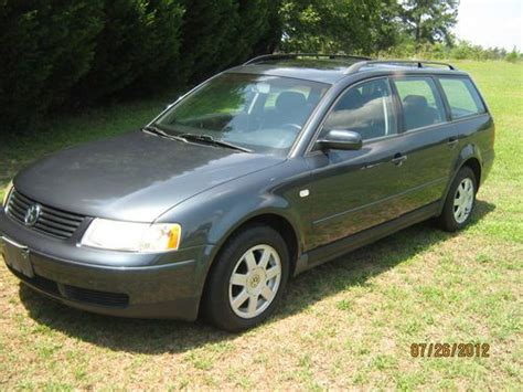 how to sell used cars 2000 volkswagen passat user handbook sell used 2000 volkswagen passat gls 1 8t in benson north carolina united states