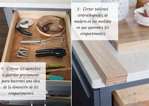 organizador cajones cocina diy organizador de cajones para la cocina mi casa no