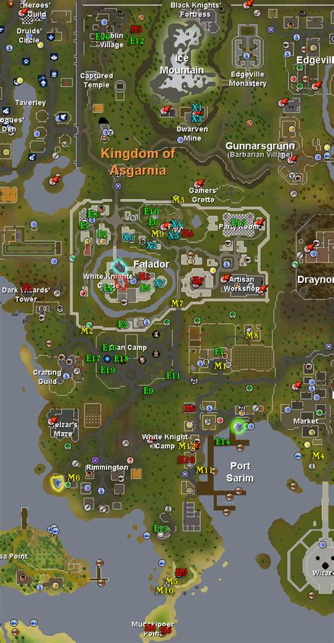falador task map pages tip it runescape help the