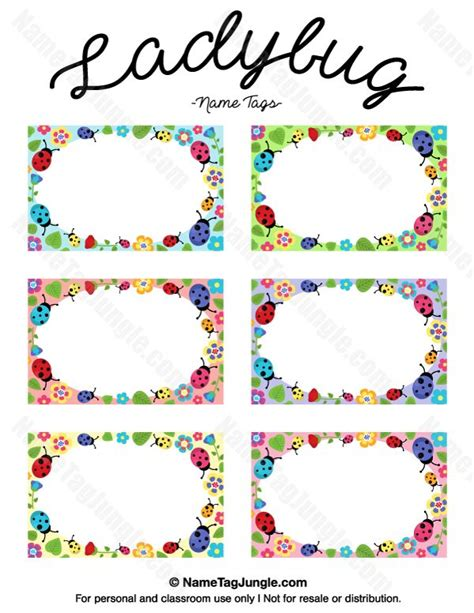 25 best name tag templates ideas on pinterest printable