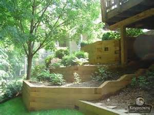 Landscape Timbers 6x6 Treated Wood Retaining Wall Design 6x6 Pressure Treated