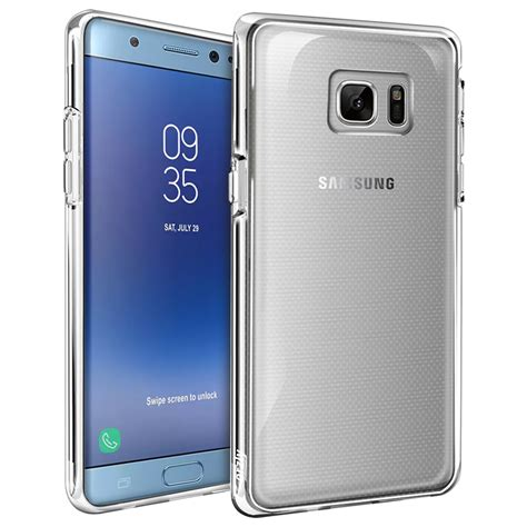 Samsung Galaxy Note Fe Flip Cover Clear View Softcase Sarung orzly flexi for samsung galaxy note fe clear