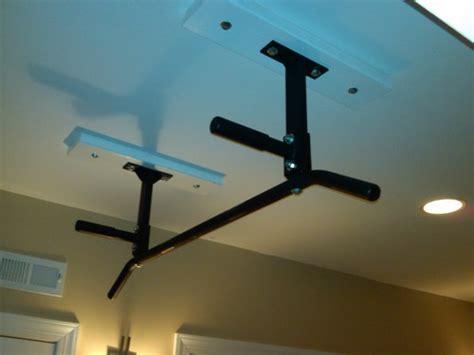 ceiling mount chin up bar ceiling mount chin up bar combo pull up bars sports outdoors