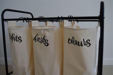 kmart hack matte black calligraphy laundry sorter