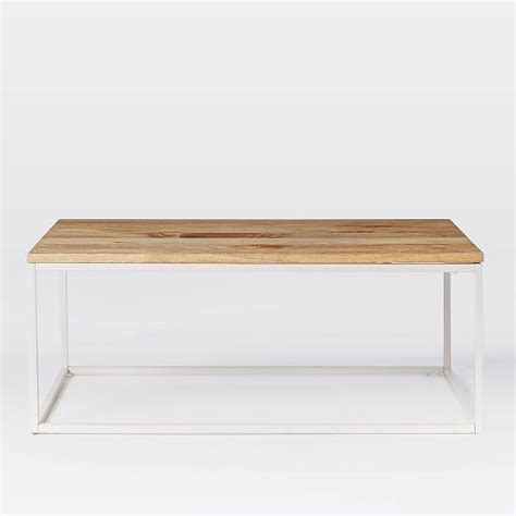 Coffee Table Box Box Frame Coffee Table Mango West Elm