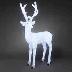 konstsmide 6166 203 led acrylic christmas reindeer 130cm