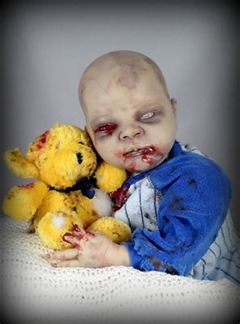 doll fan reborn forum freaky reborn zombie walking dead fans creepy cute ooak