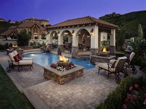 outdoor pool ideas classic bedroom designs pool with outdoor living patio