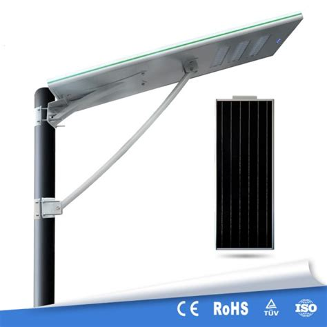 all in one 60w solar powered lights with motion