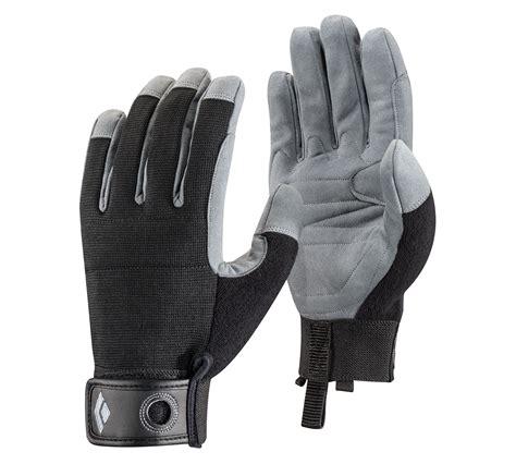 crag glove black climbing gear