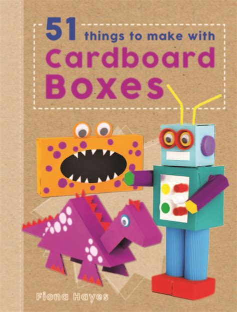 craft book review 51 things to make with cardboard boxes
