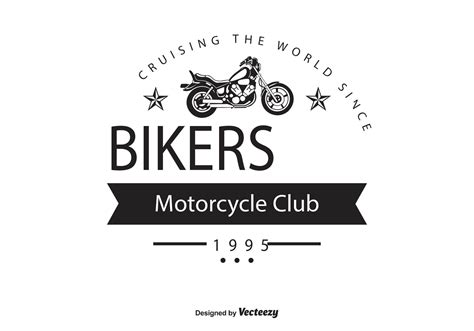 Biker Free Vector Art 828 Free Downloads Nightclub Logo Template