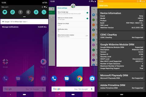 el sony xperia xz2 recibe la tercera beta de android p