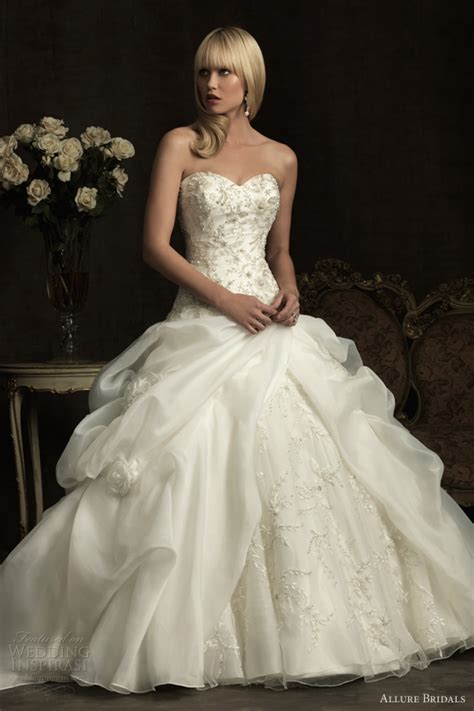 allure bridals wedding dresses spring 2012 wedding inspirasi