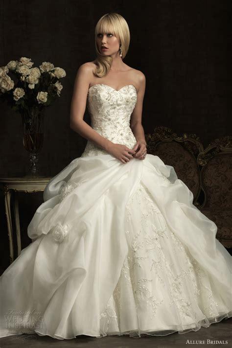 allure bridals wedding dresses spring 2012 wedding inspirasi