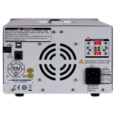 32 Volt Dc Power Supply by Siglent Spd3303x Programmable Dc Power Supply