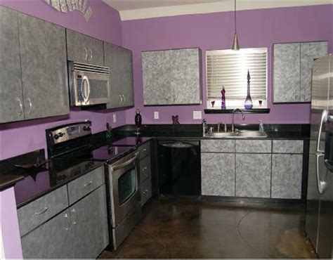 Purple Kitchen Design by Interior Design Vs Decorator Purple Kitchen Decobizz Com