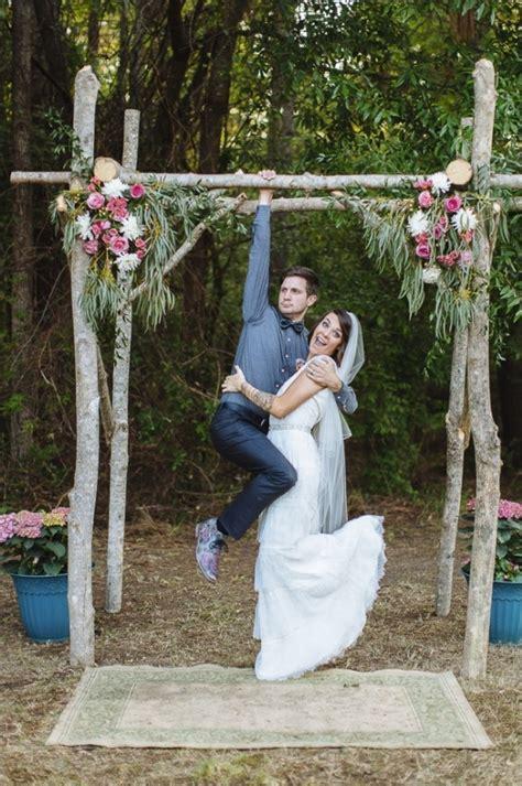 simple diy garden wedding ideas 2 hip backyard wedding