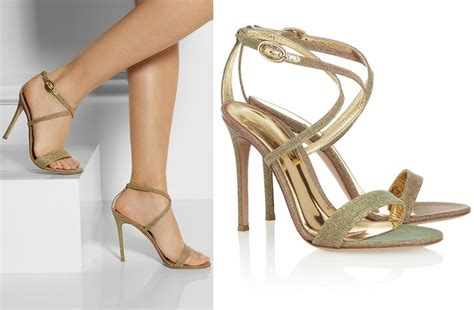 Wedding Shoes Golden by Gianvito Gold Ombre Wedding Shoes Onewed