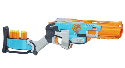Gun Nerf Strike Sledgefire Nerf Sledgefire Review Nerf Gun Attachments