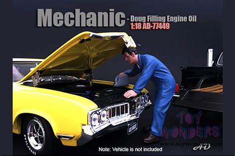 American Diorama 118 Mechanic american diorama figurine mechanic doug filling engine