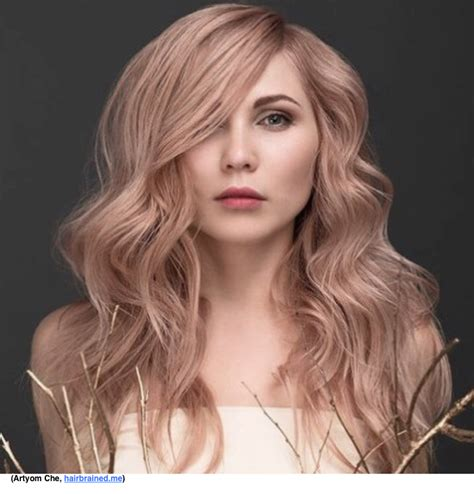is rose gold haircolor the same as strawberry blonde haircolor this shade is a blend of three summer trends silver