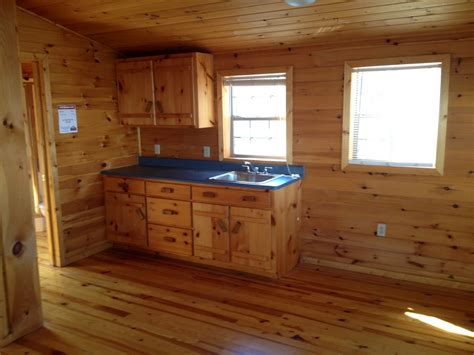Rustic Red Kitchen Cabinets log cabin interiors for the most comfortable log cabin at