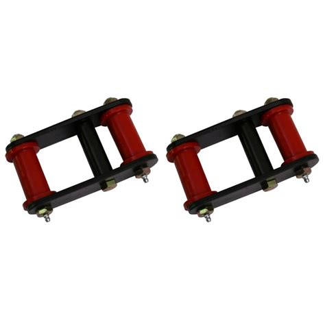 Jeep Yj Shackle Lift Rugged Ridge Hd Front Leaf Shackles 1 Inch Lift