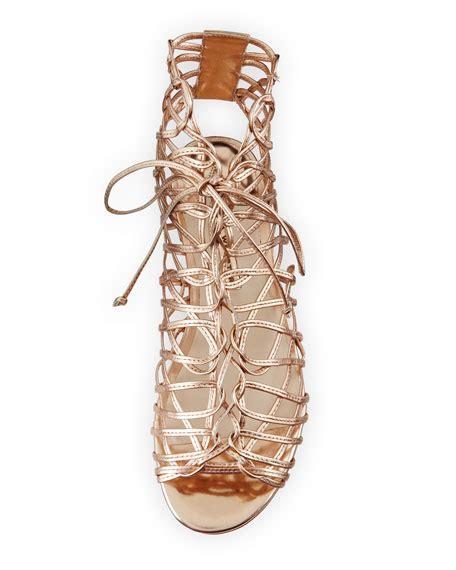 webster gladiator sandals webster dephine lace up flat gladiator sandal gold