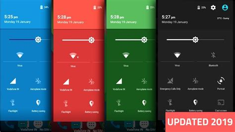 status bar color change status bar color on lock for any android no