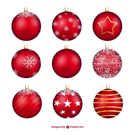 christmas baubles bauble vectors photos and psd files free download
