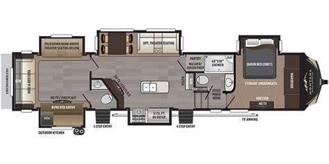 specs for 2017 keystone montana high country rvs rvusa com 2016 montana rv electrical wiring wiring diagram