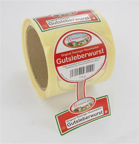 Etikettenrolle Bedrucken by Zebrahouse Etiketten
