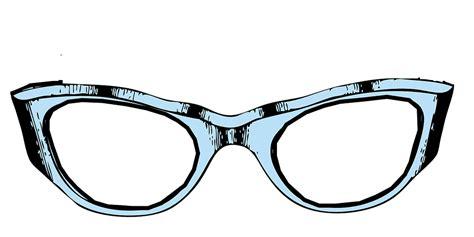Frame Kacamata Big Bulu free vector graphic glasses eyeglasses frame blue free image on pixabay 312277