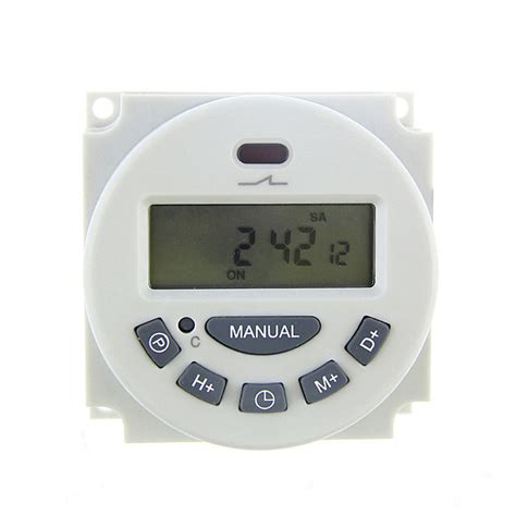 Timer Relay Digital digital lcd programmable timer time relay switch weekly
