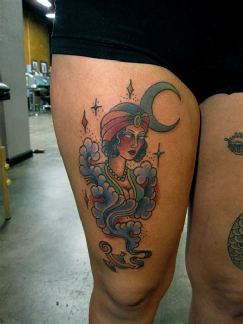 genie tattoo designs genie meanings and design ideas the editor