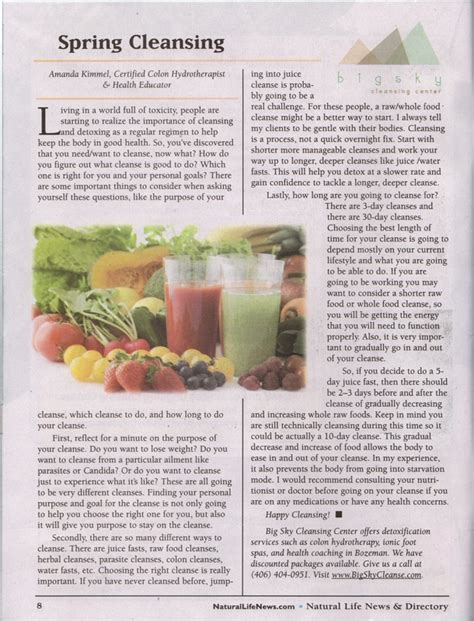Https Mothersnutrition Categories 4 Detox Cleanse by Big Sky Cleansing Center