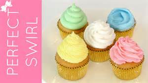 How To Decorate Cupcakes Like A Pro How To Frost A Cupcake Part 1 Perfect Bakery Swirl