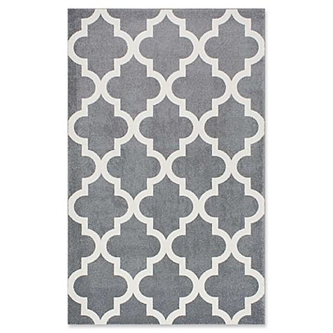 Trellis Bath Rug Nuloom Plymouth Rugmeeker Trellis Rug In Grey Bed Bath Beyond