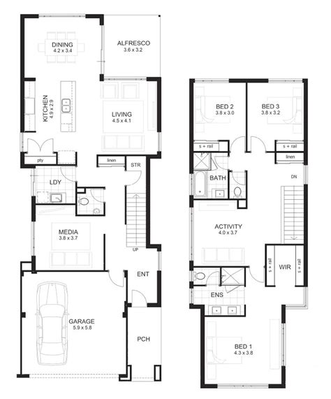 3 bedroom 2 floor house plan house plans 3 bedroom 2 floor house plan editors picks