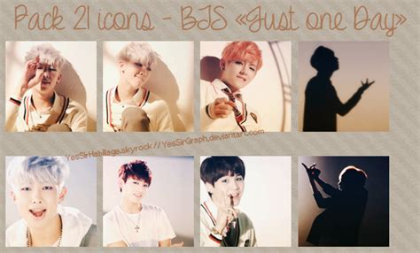wallpaper bts just one day pack 21 icon bts just one day by yessirgraph on