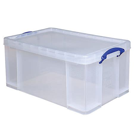 plastic storage containers really useful box plastic storage box 64 liters 28 x 17
