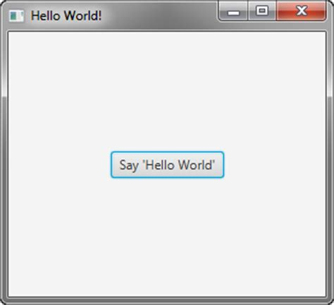 yii tutorial hello world javafx的 入门使用javafx csdn博客