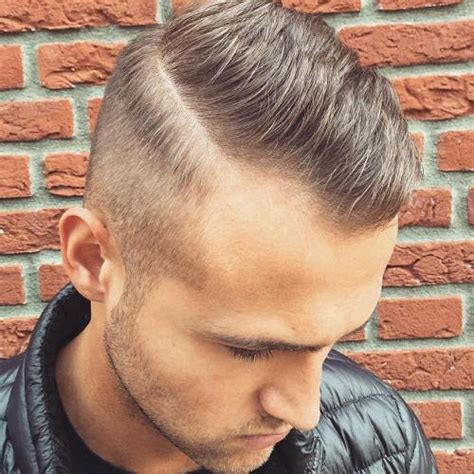 short haircut fine recessed hairline hairstyles for men with thin hair