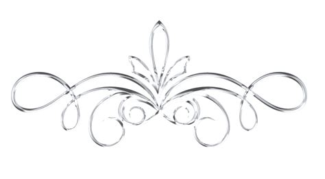silver pattern png scrollwork 1 silver by victorian lady on deviantart