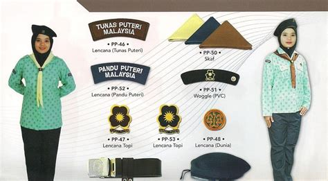 Pakaian Seragam Unit Beruniform Persatuan Pandu Puteri Smkaj Cara Pemakaian Baju Unit