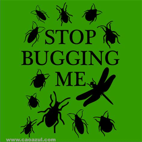 stop pugging me stop bugging me
