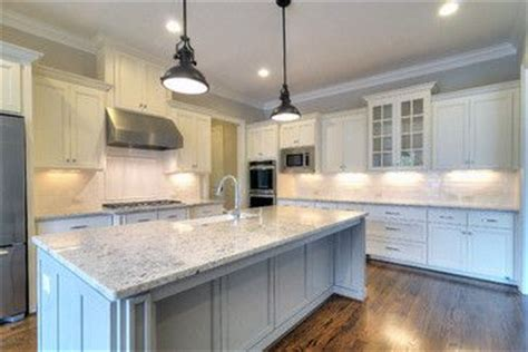 Colonial Granite With White Cabinets by Colonial White Granite Floor Color Grey Island Cabinet