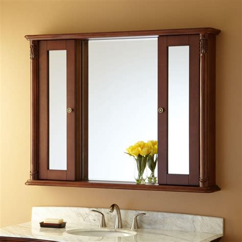 wood bathroom medicine cabinets with mirrors medicine cabinets stunning wood bathroom medicine